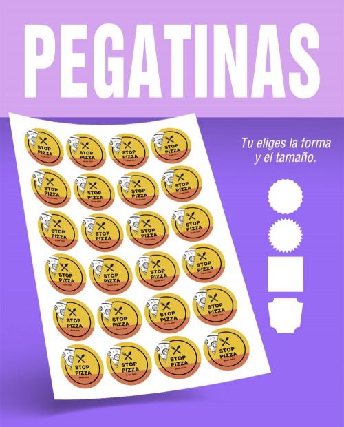 PEGATINAS ADHESIVAS