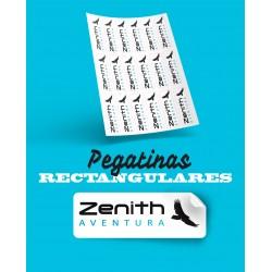 PEGATINAS ADHESIVAS RECTÁNGULARES