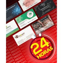 Tarjetas de Visita urgente 24 horas